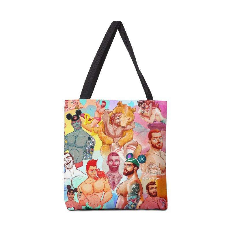 Retrospective Accessories Bag by Roagui's Artist Shop