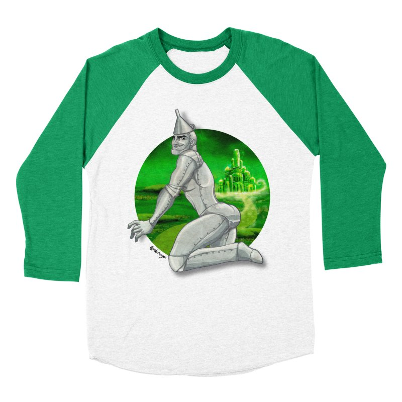 Tin Man Men's Longsleeve T-Shirt by Alfredo Roagui