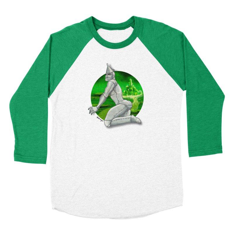 Tin Man Men's Longsleeve T-Shirt by Alfredo Roagui