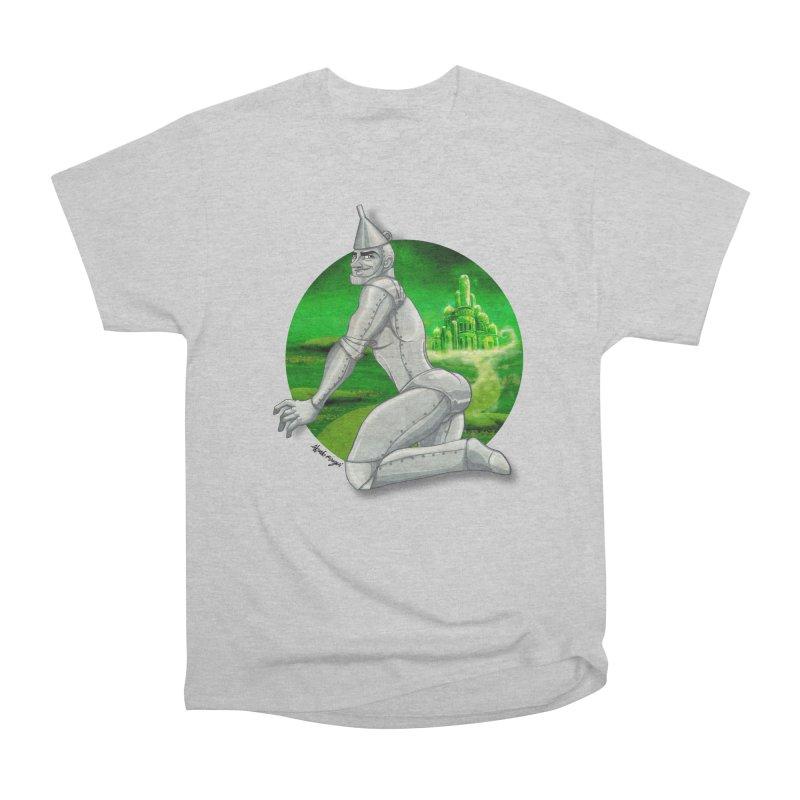 Tin Man Men's Heavyweight T-Shirt by Alfredo Roagui