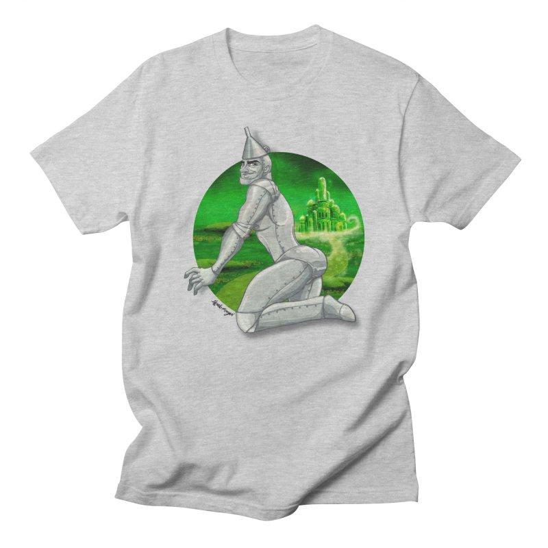 Tin Man Men's Regular T-Shirt by Alfredo Roagui