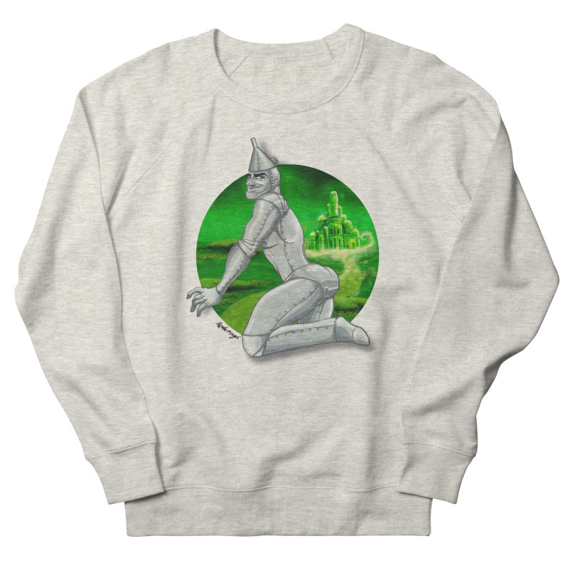 Tin Man Men's Sweatshirt by Alfredo Roagui