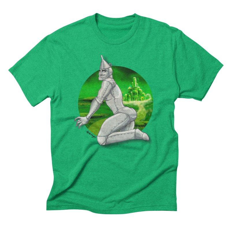 Tin Man Men's Triblend T-Shirt by Alfredo Roagui