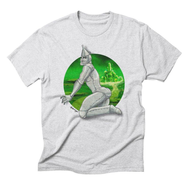 Tin Man Men's Triblend T-Shirt by Roagui's Artist Shop