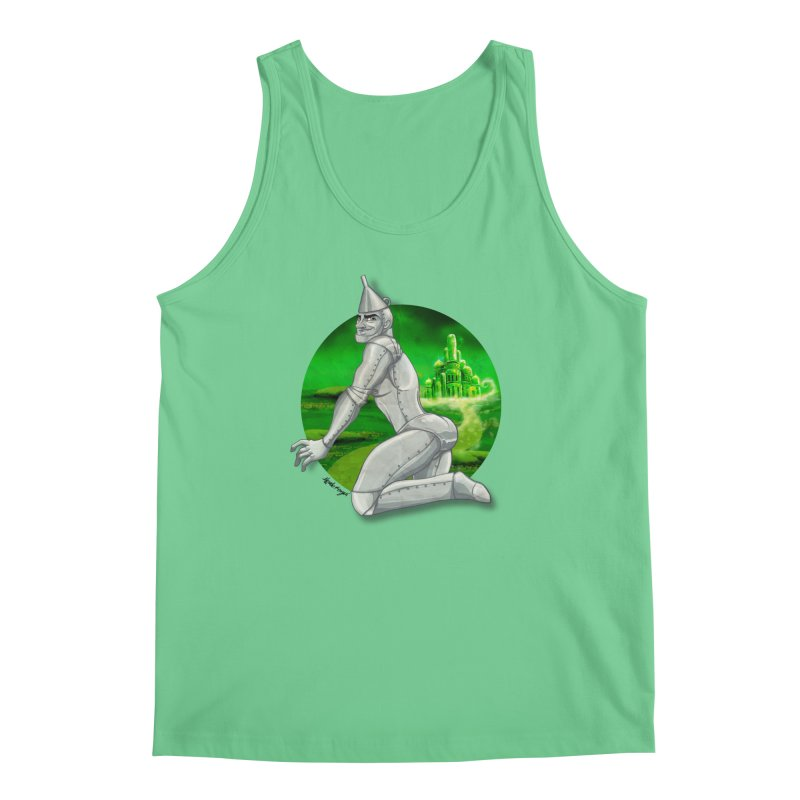 Tin Man Men's Regular Tank by Roagui's Artist Shop