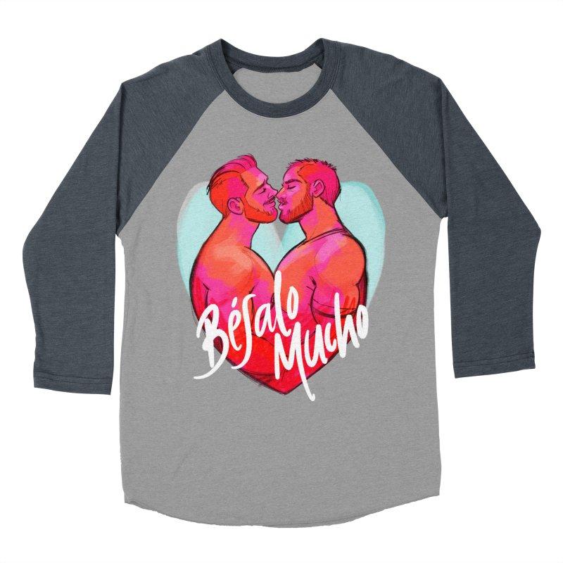 Besalo Mucho Men's Longsleeve T-Shirt by Alfredo Roagui