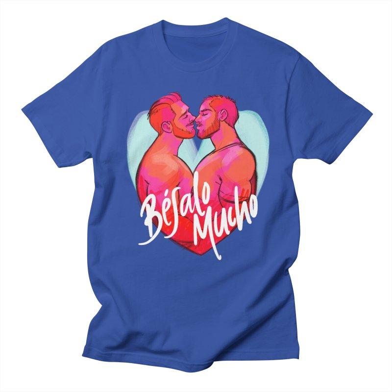 Besalo Mucho Men's T-Shirt by Roagui's Artist Shop