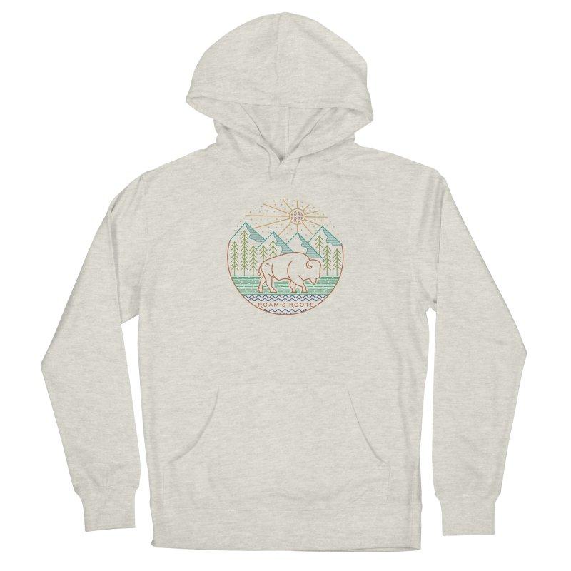 Roam and Roots Logo Men's Pullover Hoody by Roam & Roots Shop