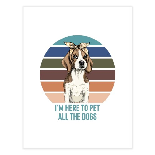 image for I'm here to pet all the dogs