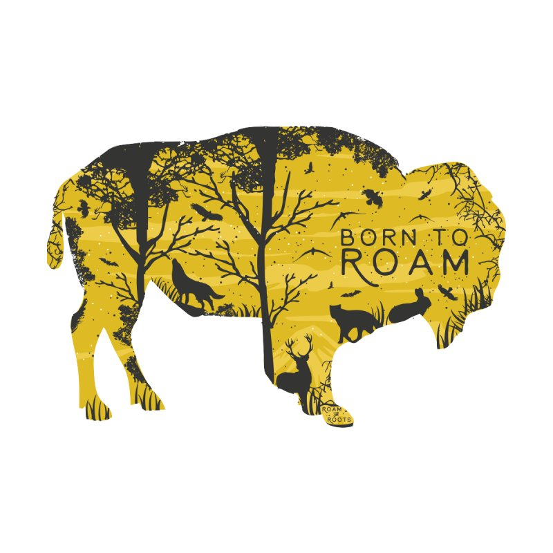 Born to Roam Men's T-Shirt by Roam & Roots Shop