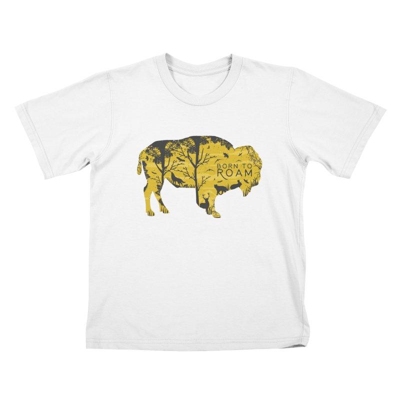Born to Roam Kids T-Shirt by Roam & Roots Shop
