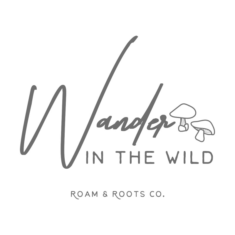 Wander in the Wild Accessories Sticker by Roam & Roots Shop
