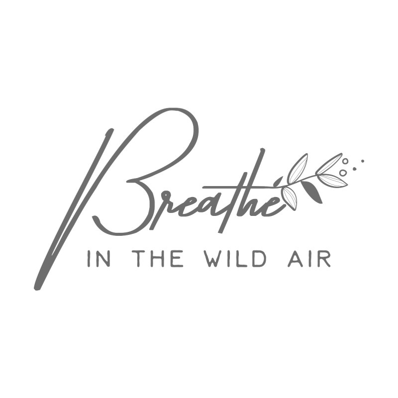 Breathe in the Wild Air Men's Tank by Roam & Roots Shop