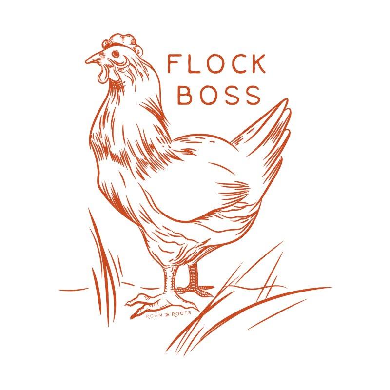 Flock boss Accessories Water Bottle by Roam & Roots Shop