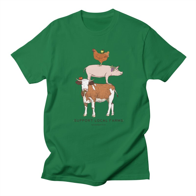 Support Local Farms Women's T-Shirt by Roam & Roots Shop