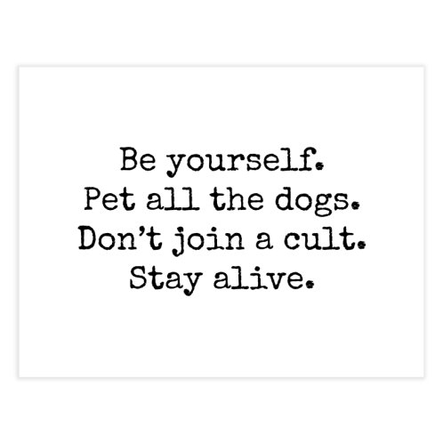 image for Be yourself