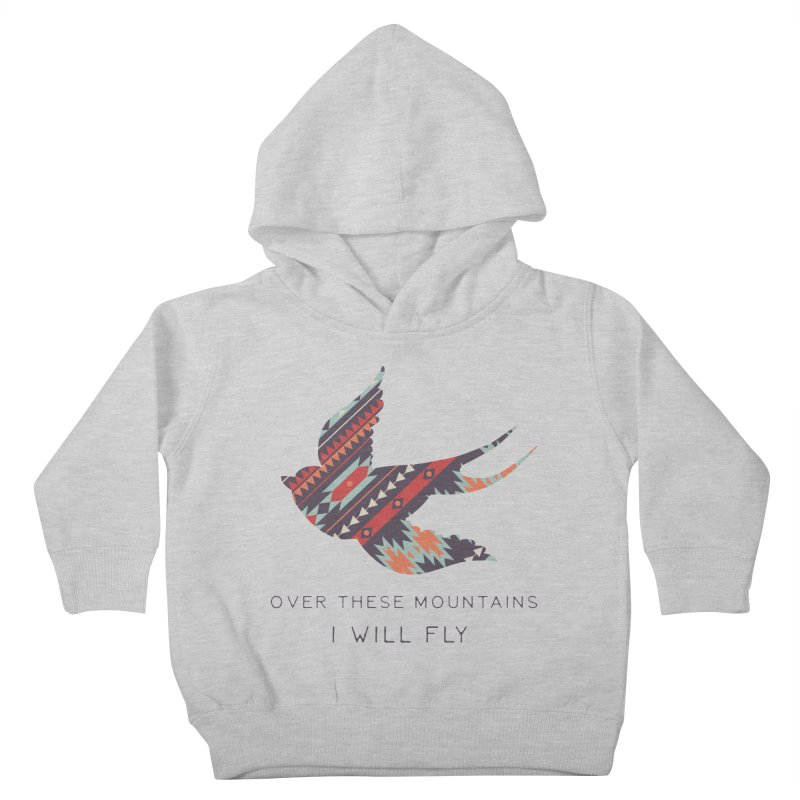 Over these Mountain Kids Toddler Pullover Hoody by Roam & Roots Shop