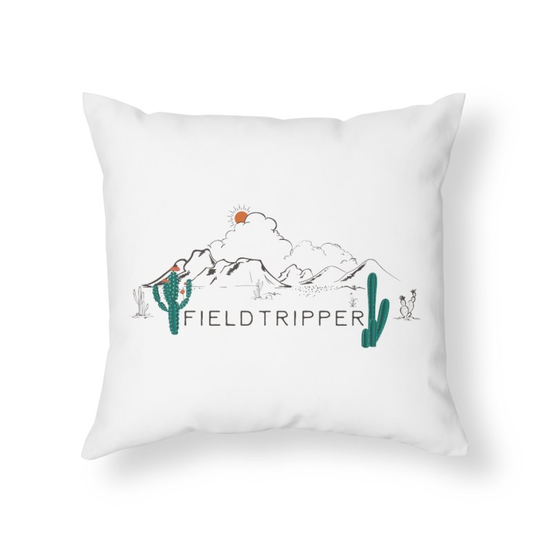 Fieldtripper Home Throw Pillow by Roam & Roots Shop