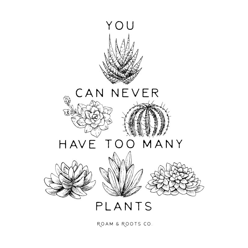 Too many plants Accessories Notebook by Roam & Roots Shop