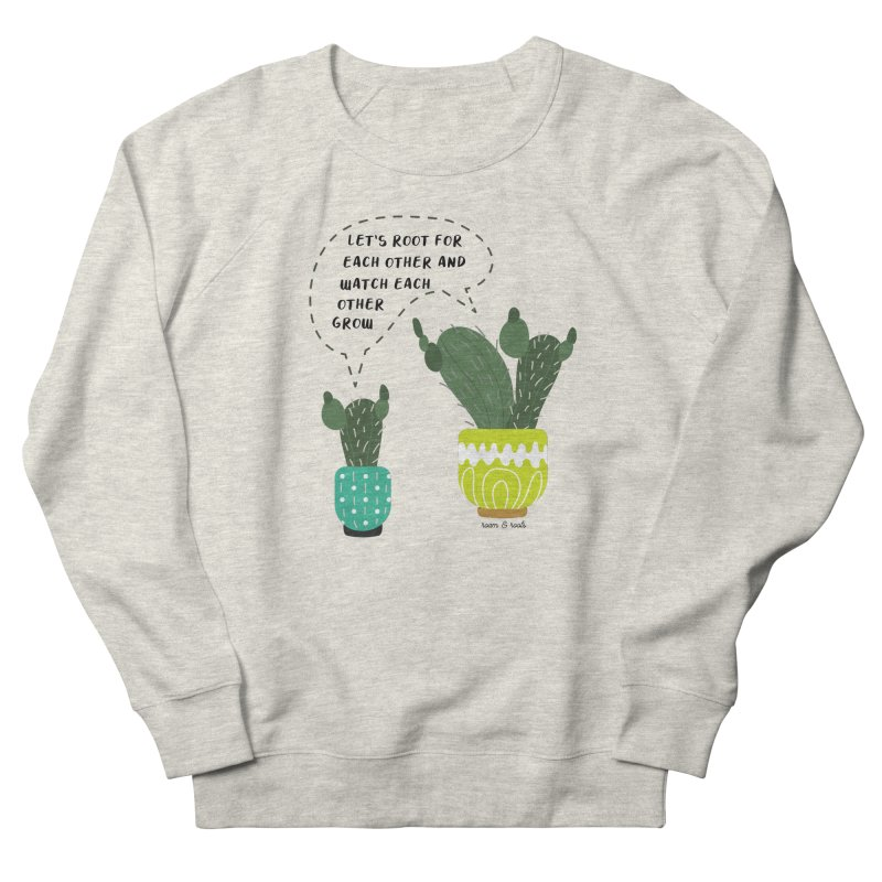 Let's root for each other Women's Sweatshirt by Roam & Roots Shop