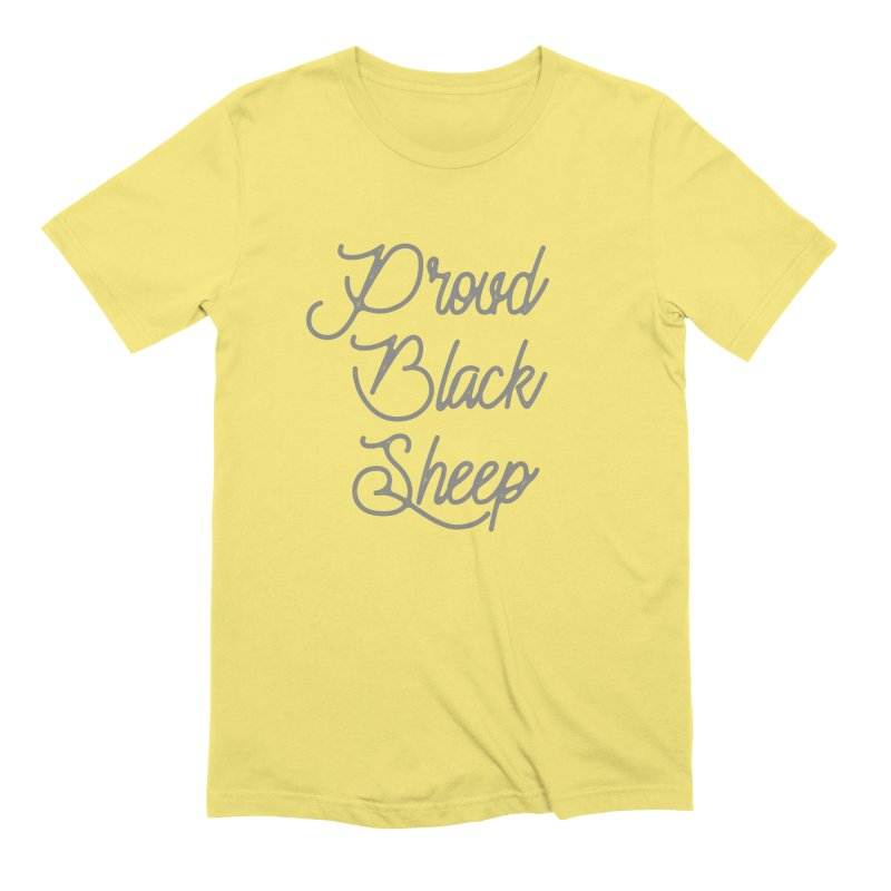 Proud Black Sheep Men's T-Shirt by Roam & Roots Shop