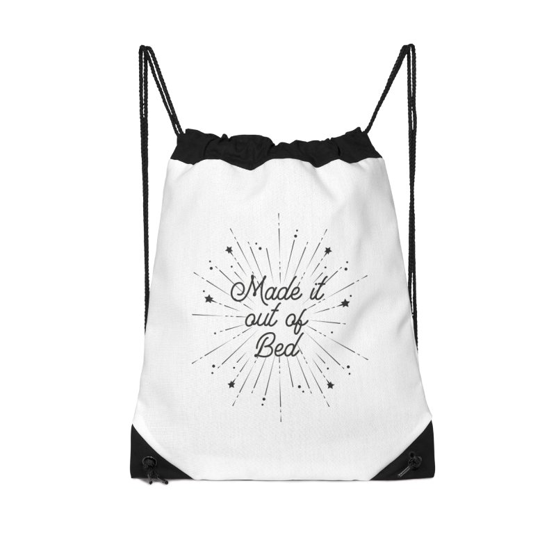 Made it out of bed Accessories Bag by Roam & Roots Shop