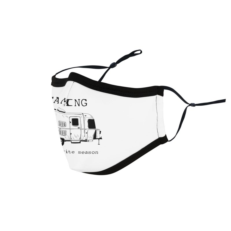 Camping is my favorite season Accessories Face Mask by Roam & Roots Shop
