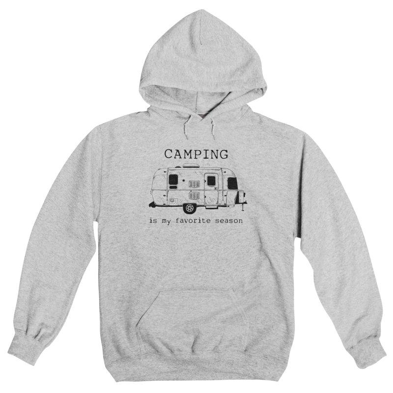 Camping is my favorite season Women's Pullover Hoody by Roam & Roots Shop