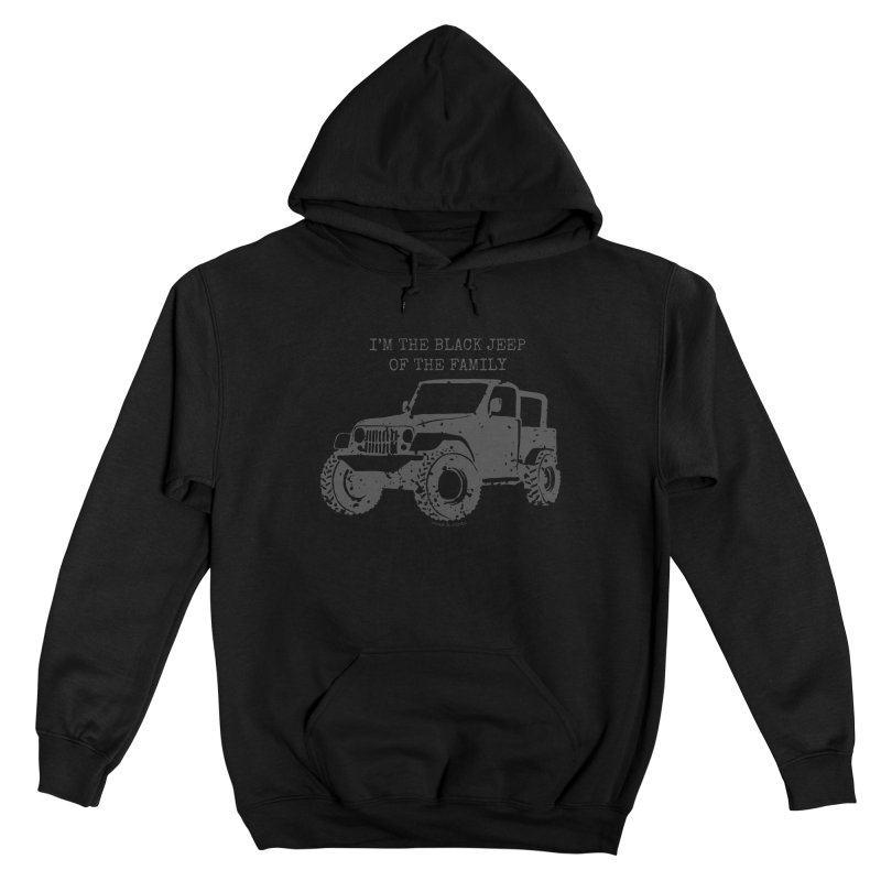Black Jeep of the Family Women's Pullover Hoody by Roam & Roots Shop