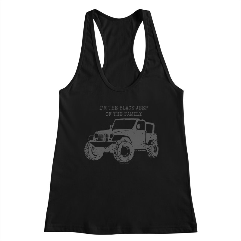 Black Jeep of the Family Women's Tank by Roam & Roots Shop