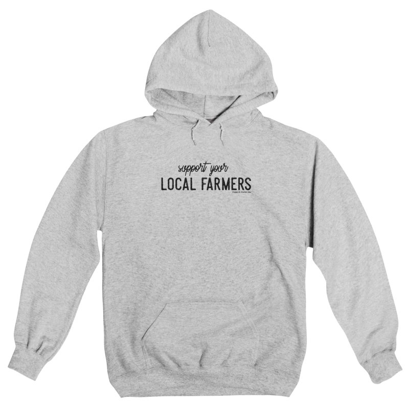 Support Your Local Farmers Men's Pullover Hoody by Roam & Roots Shop