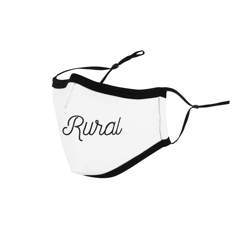 Stay Rural Accessories Face Mask by Roam & Roots Shop