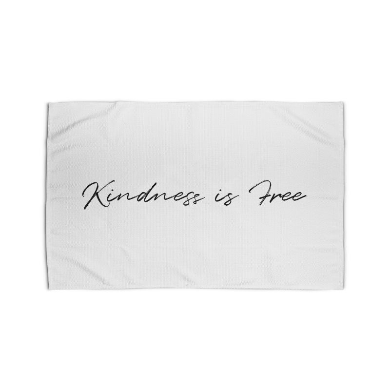 Kindness is Free Home Rug by Roam & Roots Shop