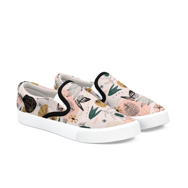 Retro Botanical Shoes Women's Shoes by Roam & Roots Shop