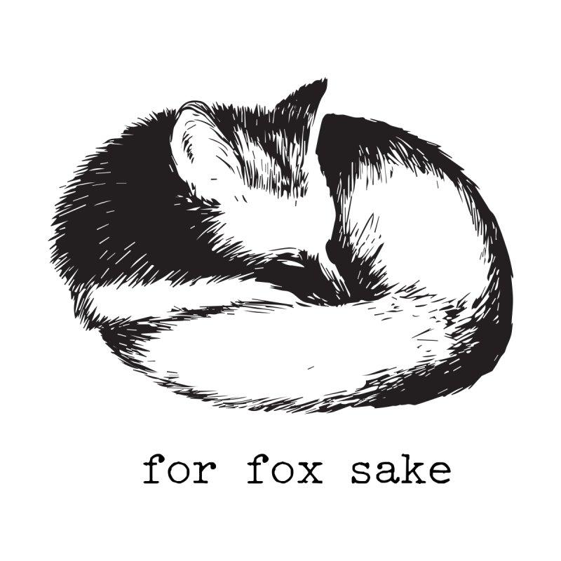 For Fox Sake Design Men's T-Shirt by Roam & Roots Shop