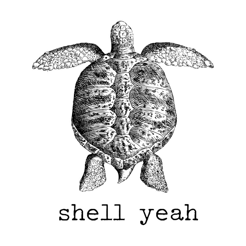 Shell Yeah Design Men's T-Shirt by Roam & Roots Shop
