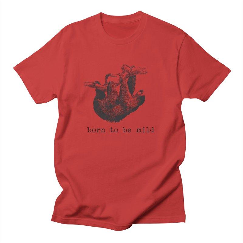 Born to be Mild Design Men's T-Shirt by Roam & Roots Shop