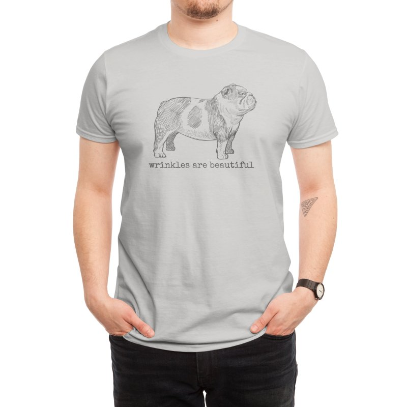Wrinkles are Beautiful Men's T-Shirt by Roam & Roots Shop