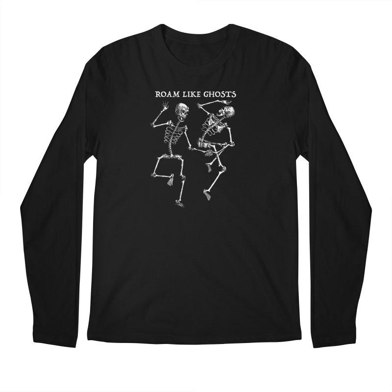 RLG Dancing Skeletons Men's Regular Longsleeve T-Shirt by Roam Like Ghost's Merch Shop