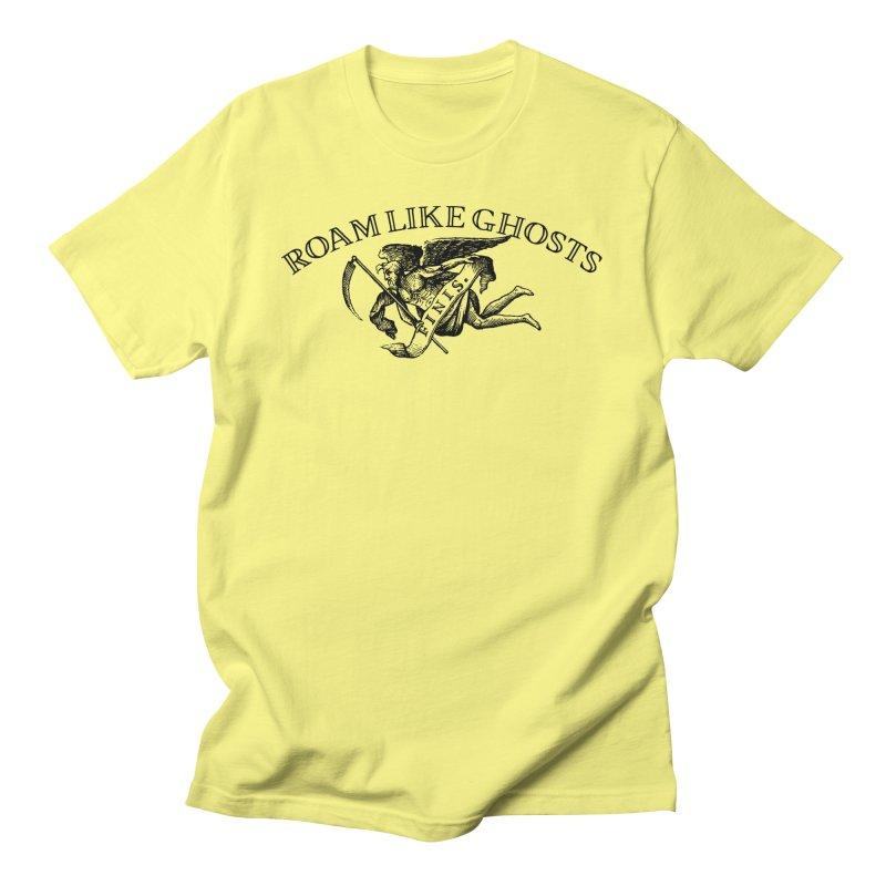 Roam Like Ghost Finis Design - Lights Men's T-Shirt by Roam Like Ghost's Merch Shop