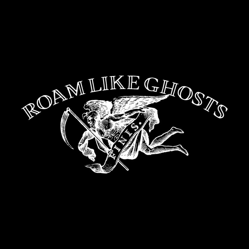Roam Like Ghosts Finis Design - Darks Men's T-Shirt by Roam Like Ghost's Merch Shop