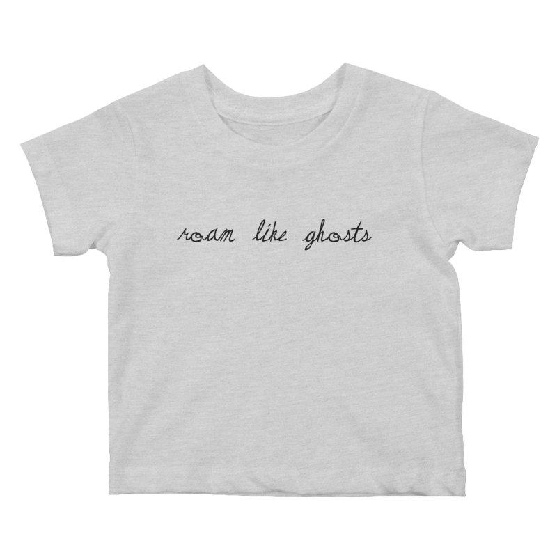 RLG Logo 2021 TTPYCH BLK Kids Baby T-Shirt by Roam Like Ghost's Merch Shop