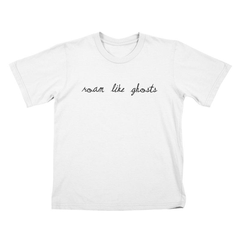 RLG Logo 2021 TTPYCH BLK Kids T-Shirt by Roam Like Ghost's Merch Shop