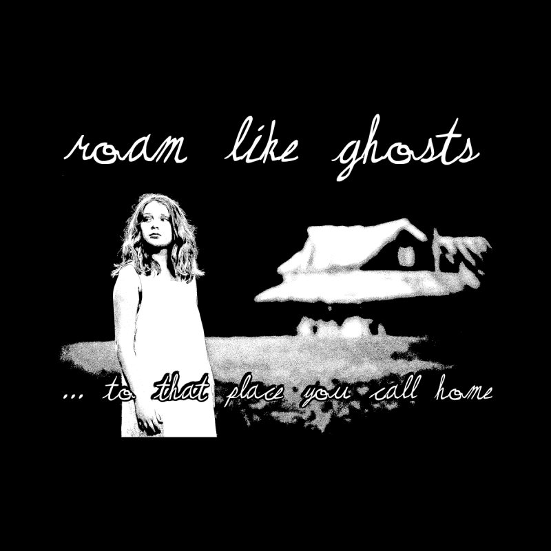 RLG To That Place You Call Home Cover WHT Men's Zip-Up Hoody by Roam Like Ghost's Merch Shop