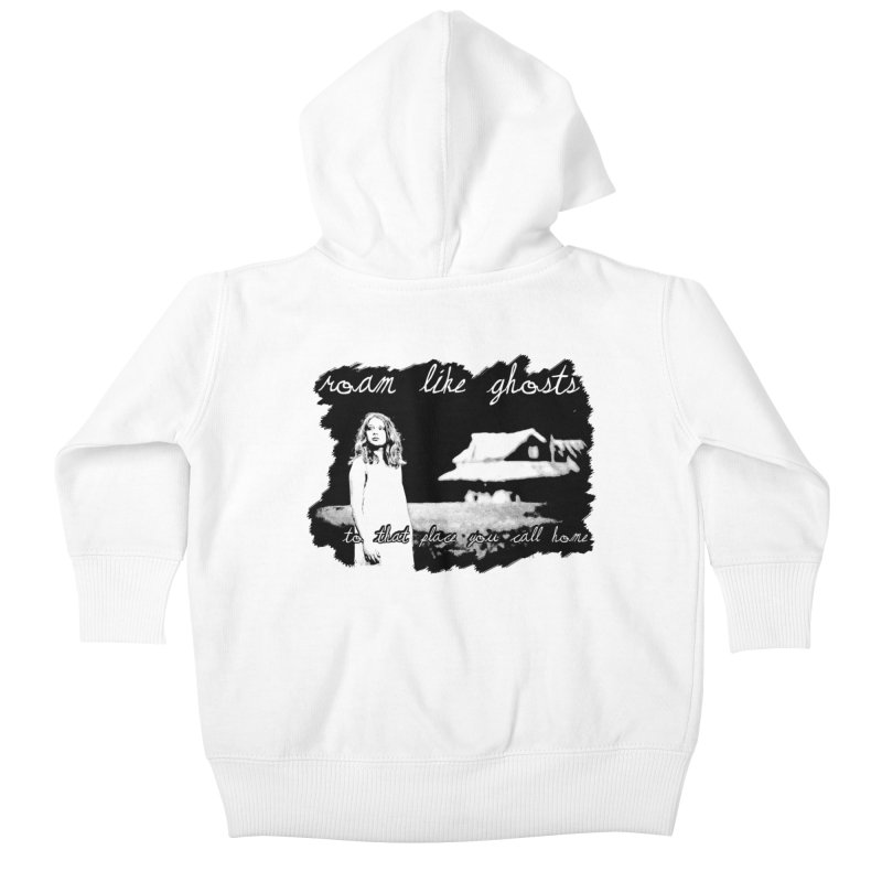 RLG To That Place You Call Home Cover BLK Kids Baby Zip-Up Hoody by Roam Like Ghost's Merch Shop