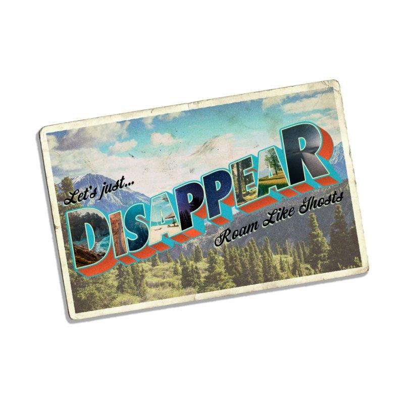 RLG-Disappear Postcard Design Kids Baby Zip-Up Hoody by Roam Like Ghost's Merch Shop