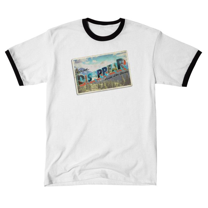 RLG-Disappear Postcard Design Women's T-Shirt by Roam Like Ghost's Merch Shop