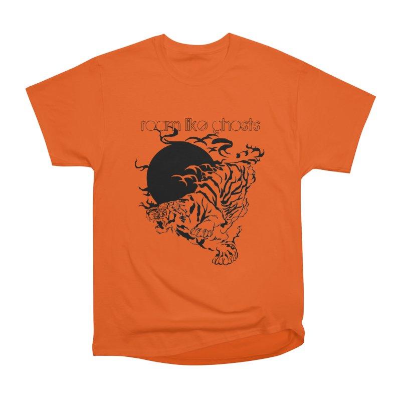 Roam Like Ghosts - Ghost Tiger Women's Heavyweight Unisex T-Shirt by Roam Like Ghost's Merch Shop