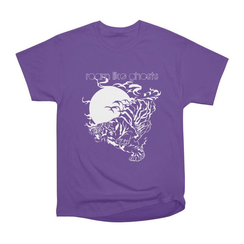 Roam Like Ghosts - Ghost Tiger Men's Heavyweight T-Shirt by Roam Like Ghost's Merch Shop