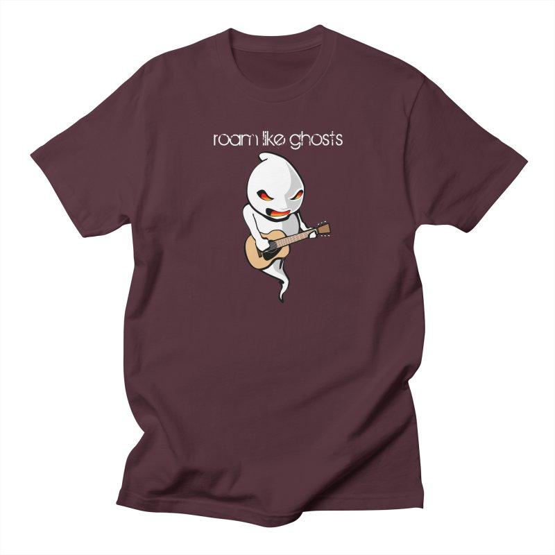 Ghost Guitar for Dark Colored Apparel Women's Regular Unisex T-Shirt by Roam Like Ghost's Merch Shop